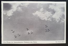 """Deutsches Reich 1936, Postkarte """"Jagdgeschwader"""" BERLIN Sonderstempel - Storia Postale"""