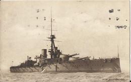 Bâteau De Guerre - Ship - H.M.S. Orion Warship - Cuirassé - Equipment