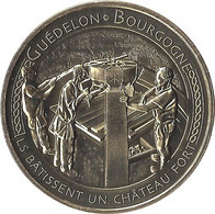 2021 MDP249 - TREIGNY - Guédelon 8  (pose Clé De Voûte) / MONNAIE DE PARIS 2021 - 2021