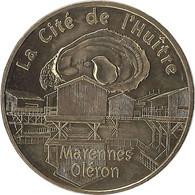 2021 MDP246 - MARENNES OLÉRON - La Cité De L'Huitre / MONNAIE DE PARIS 2021 - 2021