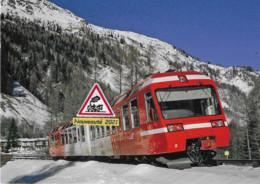 716 - Automotrice Z 800 Du St-Gervais-Vallorcine, à Montroc-le-Planet (74) - - Trains