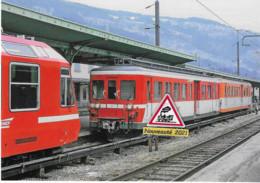 717 - Automotrices Z 600 Du St-Gervais-Vallorcine, à St-Gervais - Le Fayet (74) - - Stations With Trains