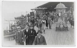 CARTE PHOTO GB ANGLETERRE BOURNEMOUTH PIER  **La Promenade Sur Le Deck ** - Bournemouth (desde 1972)