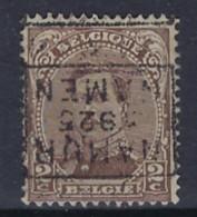 Koning Albert I Nr. 136 Type I Voorafgestempeld Nr. 3443 D  NAMUR 1925 NAMEN ; Staat Zie Scan ! - Rollini 1920-29