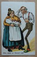 Ak Der Ersten Liebe Goldene Zeit. Künstler Jux Karikatur 11811 - Humor