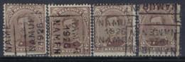 Albert I Nr. 136 Type I Voorafgestempeld Nr. 3663 A + B + C + D NAMUR  1926  NAMEN; Staat Zie Scan ! - Rollini 1920-29