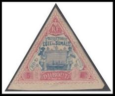 Côte Française Des Somalis 1894-1903 - N° 19 (YT) N° 18 (AM) Neuf *. Signé Richter. - Ongebruikt