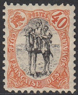 Côte Française Des Somalis 1894-1903 - N° 61 (YT) N° 61 (AM) Neuf *. - Nuevos