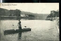 CP ( Souvenir De Waulsort) Obl. WAULSORT 28/08/1911 (110 Ans)  + Griffe Retour Envoyeur - Landpost (Ruralpost)