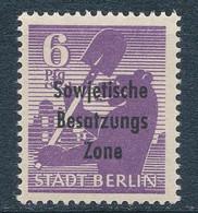 SBZ 201 A Wa Zs ** Geprüft Zierer Mi. 30,- - Zona Soviética