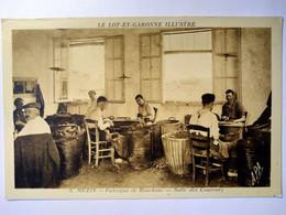 CPA  MEZIN (47) - Fabrique De Bouchons - Salle Des Coupeurs - TBE - Autres Communes