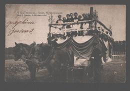's Gravenwezel - Stoet, Melkerijwagen - Phot. J. Daems, 's Gravenwezel - Geanimeerd - Schilde