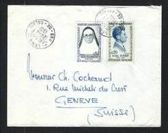 FRANCE 1961: LSC De Lens (PdC) Pour Genève - Covers & Documents