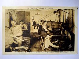 CPA  MEZIN (47) - Industrie Du Bouchons - Machine à Grande Production   BE - Autres Communes