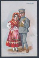 Postal Com Trajo Típico Do Minho. Viana Do Castelo. Postcard With Typical Minho Costume. Viana Do Castelo. Ansichtkaart - Viana Do Castelo