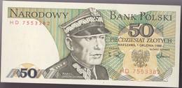 Billet Pologne Neuf - Polonia