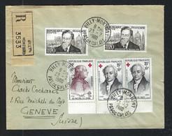 FRANCE 1960: LSC Rec. De Billy-Montigny (PdC) Pour Genève - Briefe U. Dokumente