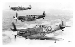 "13664 "" SUPERMARINE SPITFIRE - RAF ""-VERA FOTO - Aviation"