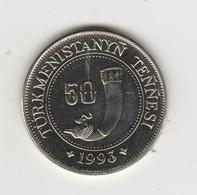 TURKMENISTAN - 50 TENGE 1993 - Turkmenistan
