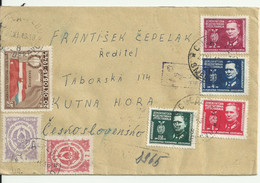Censored Cover From Yugoslavia.1945. Small Format.(10cmx15.7cm. Approx) - Storia Postale