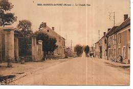 51 - MAREUIL LE PORT - La Grande Rue - Otros Municipios