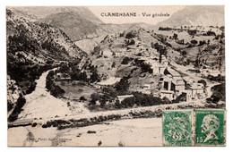 Clamensane - Vue Generale  - CPA ° - Other Municipalities