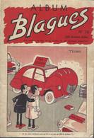 Reliure N°76 Album Blagues. Couverture 2CV. N° 451 Au 455. 1973 - Sonstige
