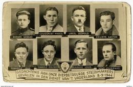 Gedachtenis Aan Onze Diepbetreurde Strijdmakkers, Oorlog  (8.9.1944) Oostduinkerke, Vinckem, St. Kruis - Brugge - 1939-45