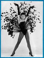 PHOTO Photographie De Presse ZIZI JEANMAIRE Danseuse, Chanteuse, Meneuse De Revue 1924 - 2020 ** Danse Dance - Personalidades Famosas
