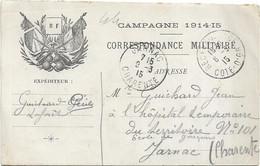 Carte Militaire.Franchise - War 1914-18