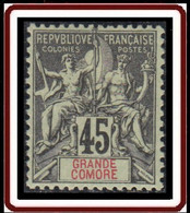 Grande Comore - N° 18 (YT) N° 19 (AM) Neuf *. - Nuovi