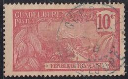 Guadeloupe 1905-1947 - Gourbeyre Sur N° 59 (YT) N° 59 (AM). Oblitération. - Usados