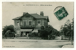 28 - B5746CPA - MAINTENON - Hotel De La Gare - Très Bon état - EURE-ET-LOIR - Non Classificati