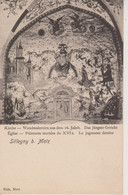 SILLEGNY - EGLISE - PEINTURES MURALES XVI° - NELS METZ - Other Municipalities