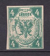 Luebeck - 1859 - Michel Nr. 5 ND - Ungebr. - Luebeck