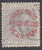 Philippines, Scott #104, Used, Alfonso XII Surcharged, Issued 1881 - Philipines