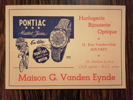 Buvard PONTIAC Maillot Jaune  - Cyclisme /Maison Vanden Eynde / Souvret - Tweewielers