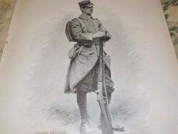 LE FANTASSIN D EDOUARD DETAILLE  1912 - Uniforms
