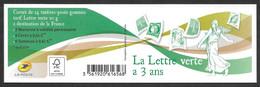 France 2014 Carnet - Yvert Nr. 1521 (4908/4909 +) - Michel Nr. MH 71 - Neuf  **  NON PLIER - Definitives