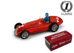 Alfa Romeo 159 - Juan-Manuel Fangio - 1st GP FI Belgium 1951 #2 - Brumm (+ Pilot) - Brumm