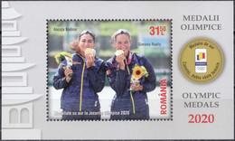 2021, Romania, Olympic Games, Tokyo, Canoeing, Olympic Games, Souvenir Sheet, MNH(**), LPMP 2335a - Neufs