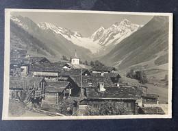 Ferden In Lötschen/ Sattelhorn Schienhorn/Photo Gyger Adelboden - VS Valais