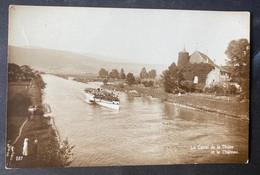 Zihlkanal/ Canal De Thièle/ Bâteau - NE Neuchatel