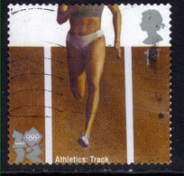 GB 2010 QE2 1st Olympic & Paralympic Athletic Self Adhesive SG 3222 ( K1034 ) - Gebraucht