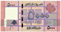 Lebanon - 5000 Livres - 2014 - Pick: 91.b - Unc. - Serie A/07 - 5 000 - Libanon
