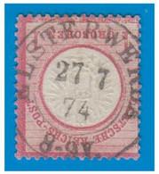 ALLEMAGNE -- Yvert N° 18 -- Oblitération De ELSTERWERDA DU 27-7 1874 -- - Oblitérés