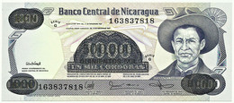 Nicaragua - 500 000 On 1 000 Córdobas - D. 1987 ( 1987 ) - Unc. - Pick 150 -  Serie G - 500000 - Nicaragua