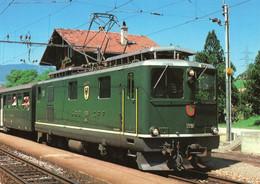 CPM - L - SUISSE - LUCERNE - LUZERN - MUSEE SUISSE DES TRANSPORTS - LOCOMOTIVE HGe4/4 1991 POUR VOIE ETROITE CREMAILLERE - LU Lucerne