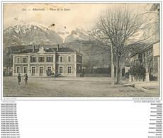 73 ALBERTVILLE. Place De La Gare 1907 - Albertville