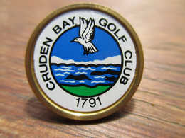 * Cruden Bay Golf Club 1791 * Schottland Golfball-Marker Vintage - Other